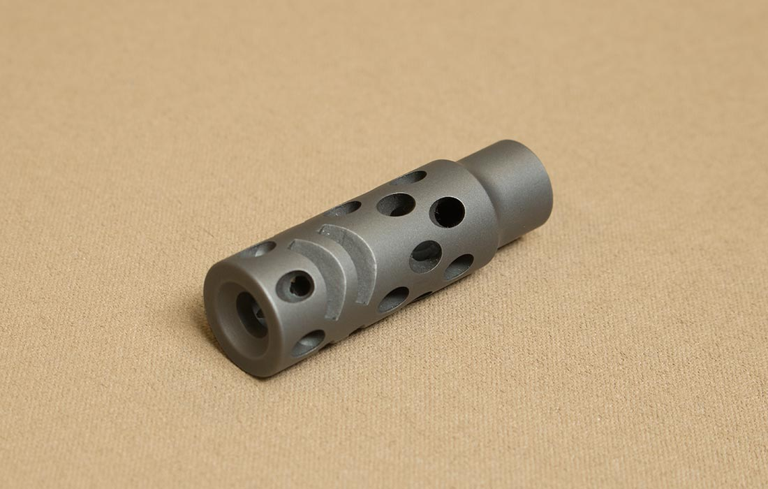 Titanium Muzzle Brakes