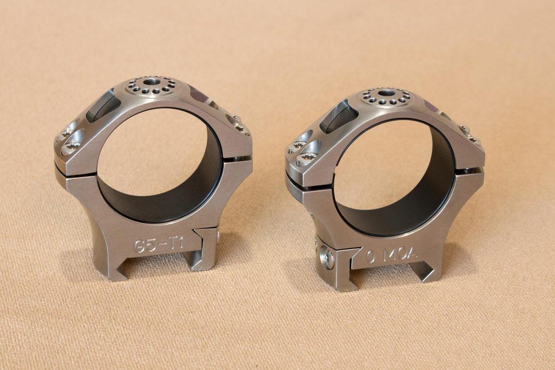 Greystone Guns Titanium Scopes Rings Polished
