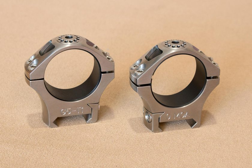 Greystone Guns Titanium Scopes Rings Polished